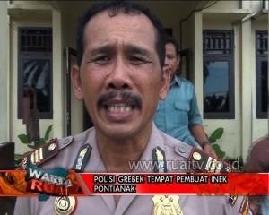 POLISI GEREBEK TAMPAT PEMBUATAN INEK